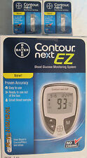 Bayer Contour Next  Blood Glucose 100 Test Strips + Free Meter Exp: 02/24/2020