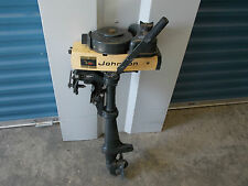 **PRICE REDUCED AGAIN** Used 1969 Johnson 1.5 HP Hand-Tilled Boat Motor