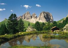 DOLOMITEN DOLOMITES in ITALY Photo Wallpaper Wall Mural MOUNTAINS STONE 388x270