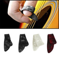 4 Pz / Set Plastica 1 Pollice 3 Finger Nail String Gutar Picks Plectrums PB