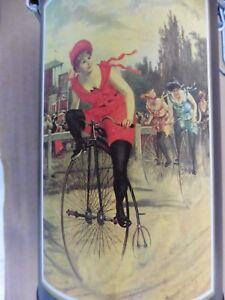 belle  boîte  GRAND BI 1900, vélo ancien collection,vélocipède, lady old bike