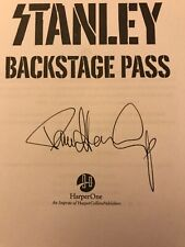 Paul Stanley * Autographed Signed New Book * Sold Out In Store Signing * Kiss