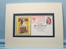 Fred Astaire & Ginger Rogers in Irving Berlin's Top Hat & commemorative envelope