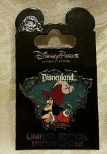 Disney DLR Disneyland 2012 Peter Pan VILLAIN CAPTAIN HOOK Surprise LE 500 Pin