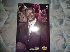 2014-15 LOS ANGELES LAKERS MEDIA GUIDE Yearbook 2014 2015 LA NBA Basketball AD