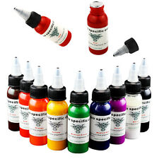 OPHIR Water-Based Pigment  Tattoo Ink Pigment 9 Colours  Set 30ml/bottle