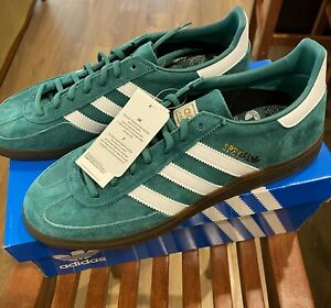 Adidas Originals Spezial Sneakers / Mens US 9 / Green And White / NWT