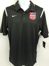 NIKE Dri Fit Men's Small Polo Short Sleeve Shirt FRAM SK SOCCER Authentic Jersey