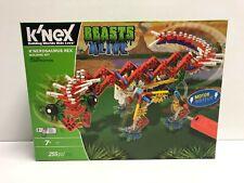 K'Nexosaurus Rex Beasts Alive K'Nex Knex Building Set (255 pieces) brand new!