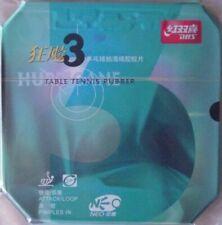 Genuine DHS Hurricane 3 Neo table tennis rubber 39/2.15mm black
