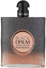 BLACK OPIUM FLORAL SHOCK by YSL perfume for her EDP 3.0 / 3 oz New