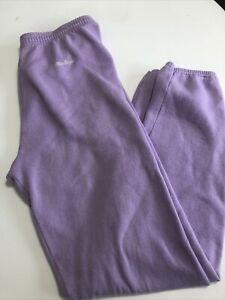 vintage 1990s macgregor purple sweatpants size Large poly cotton