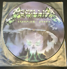 Metallica Creeping Death Picture Disc LP Vinyl Record P12 KUT 112 Near Mint