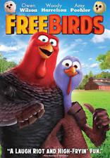 Free Birds New DVD Owen Wilson Woody Harrelson Amy Poehler, NEW