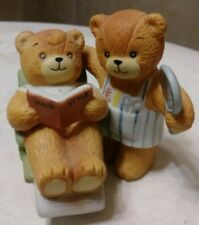 Enesco Lucy And Me Lucy Rigg 1981 Bear At The Barbers Figurine