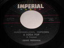 Ernie Freeman: Marshmellows, Popcorn & Soda Pop / Honey 45 - R&B