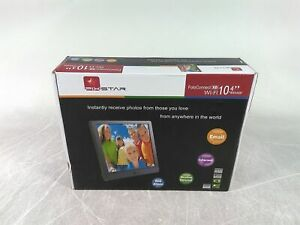 "New Pix-Star FotoConnect XD 10.4"" 800x600 Wifi Digital Picture Frame"