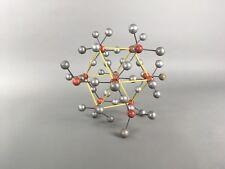 Vintage University Classroom Molecular Molecule Model Mid Century Wood & Metal
