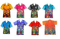 MENS HAWAIIAN SHIRT STAG BEACH HAWAII ALOHA PARTY SUMMER HOLIDAY FANCY S -XXL D7