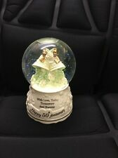 The Music Box Company 50Th Anniversary Globe