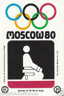 JUDO JUDOKA SPORT MOSCOU Moscow Olympic GAMES MATCHBOX LABEL 1980