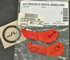 Vintage New NOS Skidoo Modular Helmet Chin Hooks 4455660030 445-5660