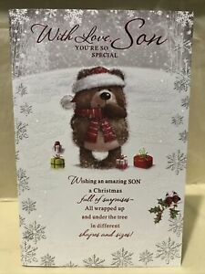 Son Christmas Greeting Card