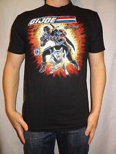 G.I. Joe Real American Hero Snake Eyes Black, Cotton Vintage T-shirt Size S