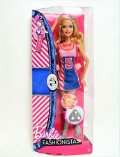 Barbie Summer Fashionista Clutch Wave 2 Doll Mint in worn box