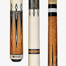 Lucasi Custom LZC46 Pool Cue Stick + Zero Flex Low Deflection Shaft + FREE CASE