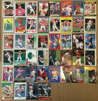 Barry Larkin LOT of 65 insert base cards NM+ HOF 1988-2001 cincinnati reds