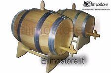 N° 2 Fût tonneau tonneaux de 3 litres + 5 litres en bois Chêne Neuf