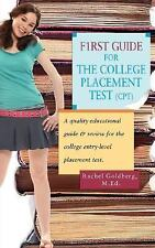 F1rst Guide for the College Placement Test (CPT): A Quality Educational Guide &