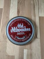 Vintage Old Milwaukee Beer Bubble Glass Sign