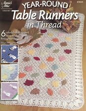 Year-Round Table Toppers, Annie's Crochet Holiday Table Motifs Pattern 874529