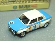 Bauer #0620 Bmw 2002 Ho Slot Car With Original Box