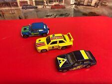 Corgi Ford Escort , BMW and Renault 5 Turbo die cast models