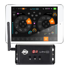 ADJ MYDMX GO iPad DMX Lighting Software Tablet Controlled Wireless DJ  Controller 827bf9a9fa5