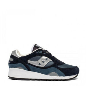 Saucony Shadow 6000 Trainers Navy / Silver - NEW!