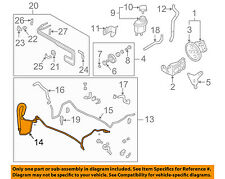 Infiniti NISSAN OEM 02-03 Q45-Power Steering Pressure Hose 49720AR200
