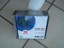 10 DVD-RW Rohlinge 4,7 GB Neu und verschweisst