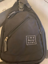 black outdoor backpack