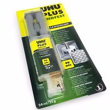 UHU Epoxy Endfest Plus – Two Part Adhesive - Solvent Free – 24ml