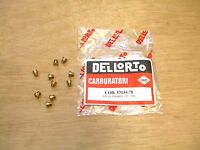 LAMBRETTA  DELLORTO 6mm MAIN JET KIT -  PACK OF 10  - BRAND NEW