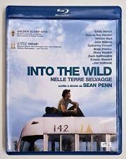 Blu-ray INTO THE WILD Nelle Terre Selvagge - edizione rimasterizzata fuori cat.