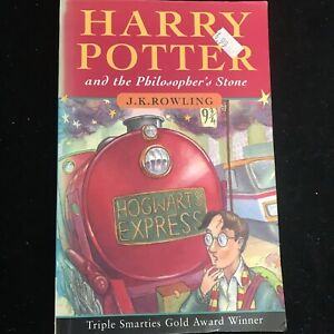 HARRY POTTER & THE PHILOSOPHER'S STONE 1st First edition UK PB Paperback