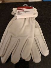 One Pair Of Hyper Tough Grain Leather Gloves (Size Large)