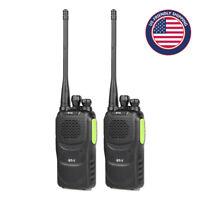 2* Baofeng GT-1 UHF 400-470MHz 5W 16CH FM Two-way Ham Radio Walkie Talkie
