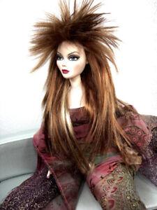 Monique Doll Wig STARR Size 6-7 Golden Auburn Golden Strawberry Blond