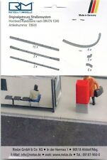 Rietze 70600 Hochbord-Randsteine nach DIN EN 1340, 1:87 H0